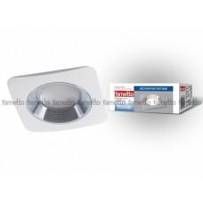 Uniel Fametto Vernissage Светильник LED квадрат GU5.3 IP20 белый/хром