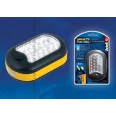 Uniel Стандарт «Solid Multifunctional Assistant» Желтый Фонарь пластиковый корпус, 24+3 LED