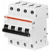 ABB Автомат.выкл-ль 4-полюсной S204MT-K6