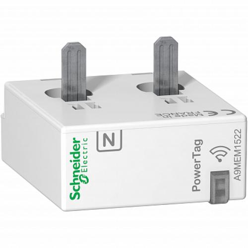 SE Acti 9 Датчик беспроводной Powertag 63A 1P+N/2P ниже аппарата