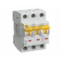 IEK Автоматический выключатель ВА 47-60 3Р 16А 6 кА х-ка С