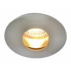 Arte Lamp Accento Серебро/Серый Светильник точечный встаиваемый 1x50W 1xGU10; 1xG5,3