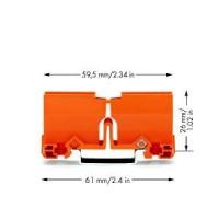 WAGO Фиксирующий держатель для вертикальной установки клемм серии 773 на DIN-рейку