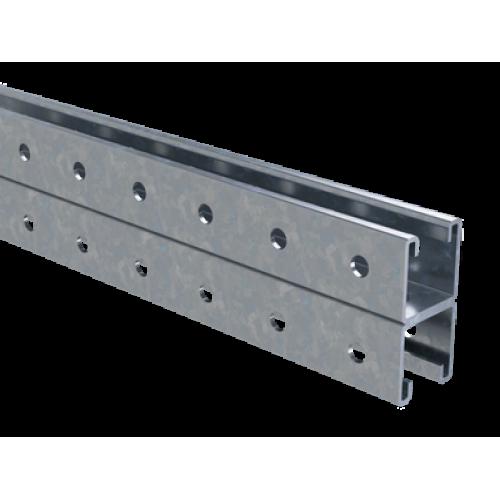 DKC Двойной С-образный профиль 41х41, L6000, толщ.2,5 мм, горячеоцинкованный