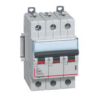 Legrand DX3 Автоматический выключатель 3P 80A (D) 25кА