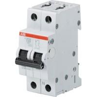 ABB S201 Автоматический выключатель 1P+N 6А (C) 6кА