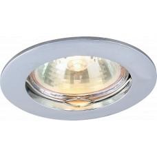 Arte Lamp Basic Хром Светильник точечный встаиваемый 1x50W 1xGU10