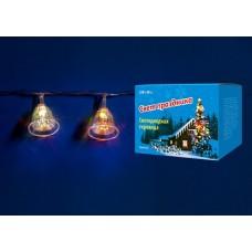 Uniel Гирлянда LED Колокольчики с контроллером, 20 светодиодов, 2,8 м, RGB, IP20
