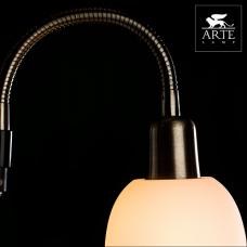 Arte Lamp Duetto Бронза/Белый Торшер 60W/25W E14/E27