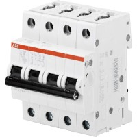 ABB S204M Автоматический выключатель 4P 63А (С) 10kA