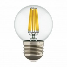 Lightstar 933824 Лампа LED FILAMENT 220V G50 E27 6W=65W 400-430LM 360G CL 4000K 30000H (в комплекте)