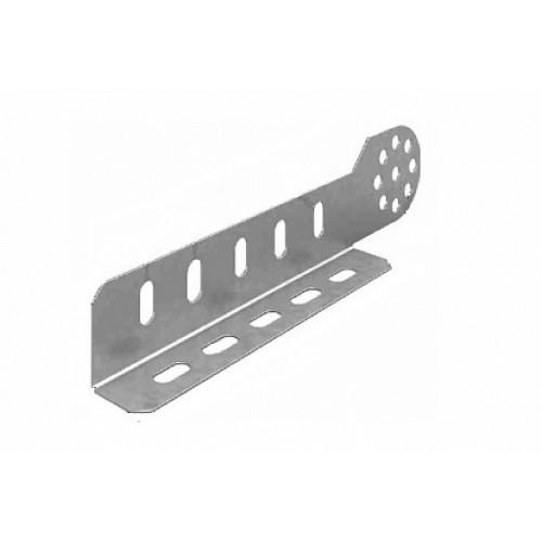 OSTEC Соединитель универсальный шарнирный для лотка УЛ высотой 50/65 мм (1,5 мм) (1 компл = 2 шт)