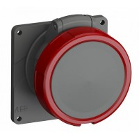 ABB Easy&Safe Розетка с прямым фланцем 432ERU6W,32A,3P+N+E,IP67,6ч