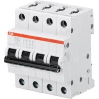 ABB Автомат.выкл-ль 4-полюсной S204M Z4