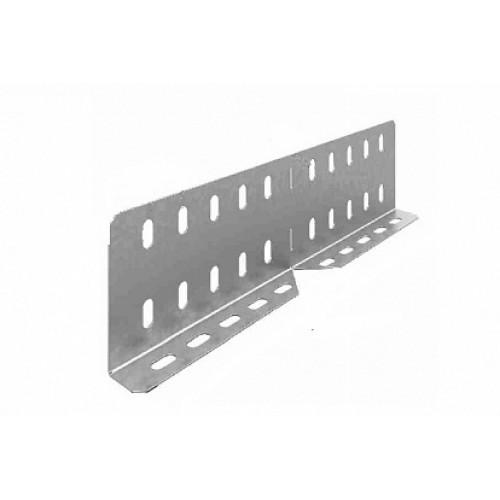 OSTEC Соединитель универсальный изменяемый для лотка УЛ высотой 100 мм (1,5 мм)