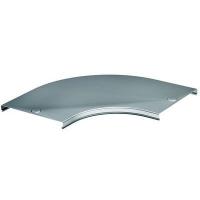 DKC Крышка на угол CPO 90 горизонтальный 90° осн.80, нержавеющая