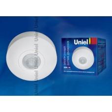 Uniel Датчик движения накладной USN-14360гр 1200W дальность 6m (0,6-1,5m/s) белый