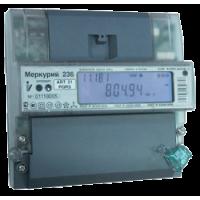Меркурий электросчетчик 236ART-03 PQRS 5-10А; *230/400 (кт. 0,5S/1,0; оптопорт; RS485; DIN)