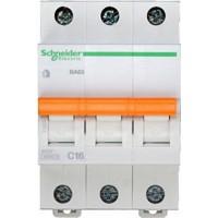 SE Домовой ВА63 Автоматический выключатель 3P 16A (C) 4.5kA