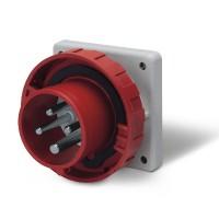DKC Вилка панельная прямая IP67 16А 3P+E 400В