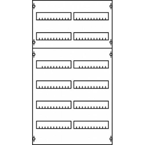 ABB Панель для модульных уст-в 2ряда/9реек