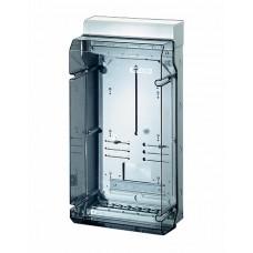 Hensel KV Бокс прозр. дверь с пломб, DIN-рейка IP65.(295х583х182)