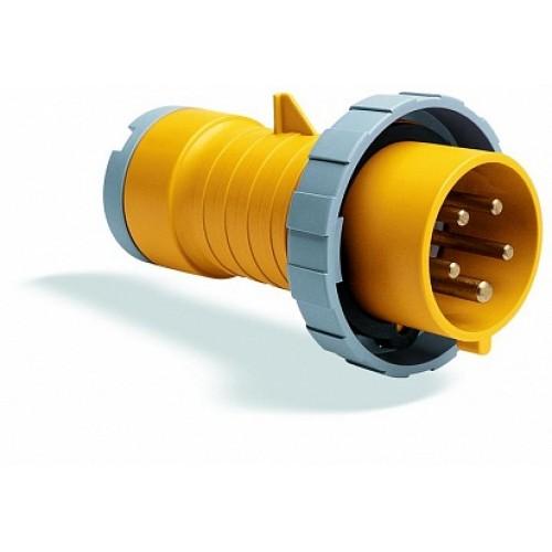 ABB P Вилка кабельная 432P4W, 32А, 3P+N+E, IP67, 4ч