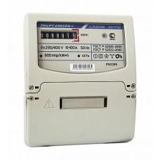 Энергомера Счетчик ЦЭ6803В 1 230В 10-100А 3ф.4пр. М7 Р32