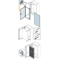 ABB SR2 Дверь внутренняя глухая для шкафов SR2 700х500мм ВхШ