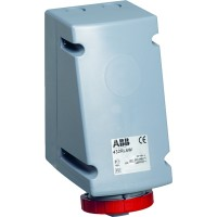 ABB RL Розетка для монтажа на поверхность с подключением шлейфа 432RL9W, 32A, 3P+N+E, IP67, 9ч