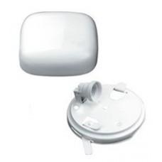 LL OTE1 1x60W E27 Светильник накладной белый (квадратное стекло) IP20