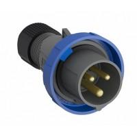 ABB Easy&Safe Вилка кабельная 216EP6W, 16А, 2P+E, IP67, 6ч