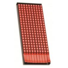 DKC Маркер для кабеля сечением 0,5-1,5мм пустой красный