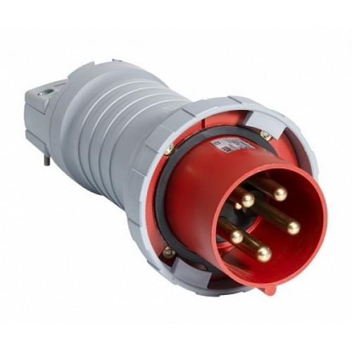 ABB P Вилка кабельная 463P4W, 63А, 3P+N+E, IP67, 4ч