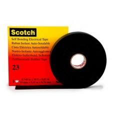 3M Scotch 23 Изоляционная лента самослип. резиновая 19мм х 4м