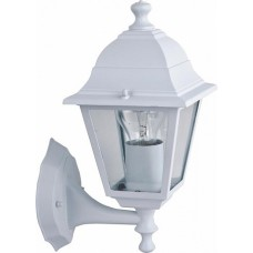 Favourite Leon Белый/Прозрачный Светильник уличный 1*E27*60W, IP44