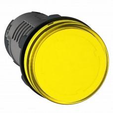 SE Сигнальная лампа, LED, желтая 24В