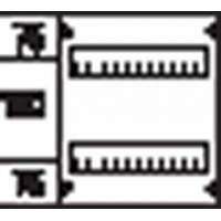 ABB Пластрон размером 300х250мм, (1 ряд, 2 рейки)-150мм