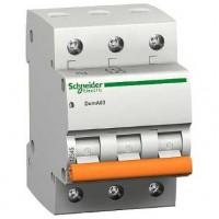 SE Домовой ВА63 Автоматический выключатель 3P 6A (C) 4.5kA