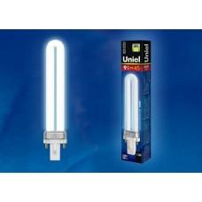 Uniel Лампа энергосберегающая линейная 9Вт, G23, ярко-белая
