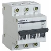 IEK GENERICA Автоматический выключатель ВА47-29 3Р 16А 4,5кА (С)