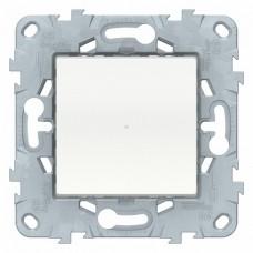 SE Unica New Бел Выключатель релейный Wiser нажимной, 10А