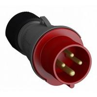 ABB Easy&Safe Вилка кабельная 332EP6,32А,3P+E,IP44,6ч