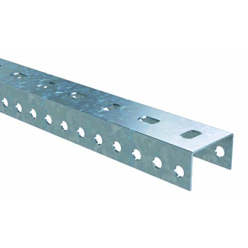 DKC П-образный профиль PSM, L6000, толщ.2,5 мм, горячеоцинкованный