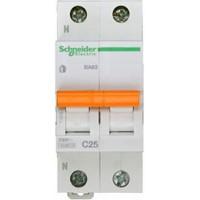 SE Домовой ВА63 Автоматический выключатель 1P+N 25A (C) 4.5kA