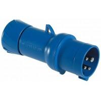 SE PratiKa Вилка кабельная, быстрозажимное соединение, 16А 2P+E IP44 220В