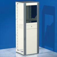 DKC Сборный напольный шкаф CQCE для установки ПК, 2000 x 600 x 800 мм