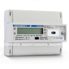 Энергомера счетчик СЕ302 R31 745 J, 1/1, 3Ф 1Т 5-60А