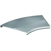 DKC Крышка на угол CPO 45 горизонтальный 45° осн.50, нержавеющая