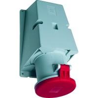 ABB RS Розетка для монтажа на поверхность 363RS7, 63A, 3P+E, IP44, 7ч